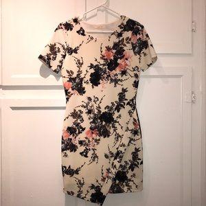 Dresses & Skirts - Asymmetrical Floral Dress